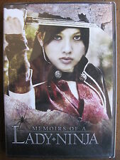MEMOIRS OF A LADY NINJA (DVD) TOKYO SHOCK - BRAND NEW, FACTORY SEALED!!!