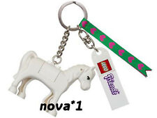 LEGO FRIENDS HORSE KEYRING  KEYCHAIN BAG CHARM NEW