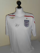 England Hand Signed Jack Cork Shirt Very Rare.