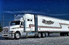 LAST Rare DCP - BRADLEY TRUCKING  International Harvester 9400i Semi - 30666
