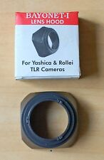 Rolleiflex Yashica Lens Hood Bay 1 TLR Hood ( 1 Pices)