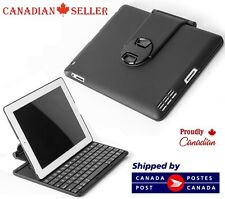 Apple iPad Wireless Bluetooth Keyboard Case for iPad 3 4 Folio Style Clamshell