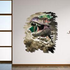 Wandtattoo Wandbild  Kinderzimmer Dinosaurier Wand Sticker   3D Neu 50