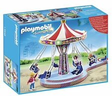 NEW Playmobil Summer Fun Carousel with Colourful Lighting 5548
