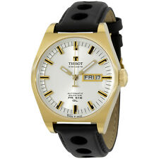 Tissot PR 516 Mens Silver PVD Automatic Heritage Watch - T0714303603100