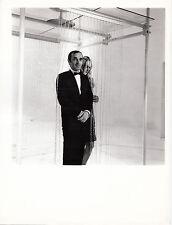 Photo originale Charles Aznavour plateau télévision