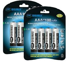 Digimax * 8 X 1100 Mah Aaa Recargable batteries-ni-mh