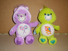 Care Bears Share Bear and Do Your Best Bear Plush Stuffed Animals  2003  9""