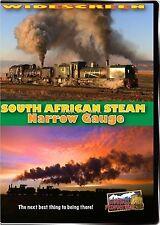SOUTH AFRICAN STEAM NARROW GAUGE HIGHBALL DVD-R WS