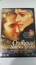 OTOÑO EN NUEVA YORK DVD RICHARD GERE CASTELLANO INGLES SEALED PRECINTADA NUEVA