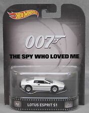 Hot Wheels Retro Entertainment Lotus Esprit S1 - 007 - MJ Exclusive