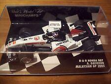 1/43 BAR 2005 Honda 007 Anthony DAVIDSON Malaysia GP
