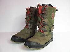 Timberland Boots womens UK 5.5 EUR 39 canvas leather