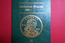 SACAGAWEA  2000-2004  2-Page  LITTLETON FOLDER, New & Unused, NO Coins Included