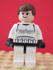 LEGO Star Wars @@ Minifig @@ sw205 @@ Han Solo - Stormtrooper Outfit - 10188