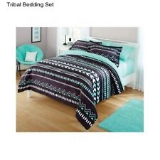 New Girl's Teen Kid's Tribal Full Size Comforter Set Bedding Sheets Bed In a Bag