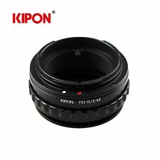 Kipon Adapter with Helicoid Macro Tube for Canon FD Lens to Sony NEX Camera