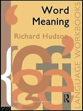 WORD MEANING - NEW PAPERBACK BOOK