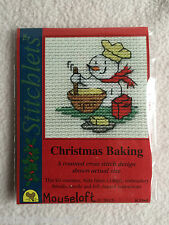 MOUSELOFT STITCHLETS CROSS STITCH KIT ~ CHRISTMAS BAKING ~ CHRISTMAS ~ NEW