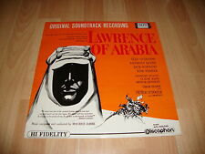 LAWRENCE OF ARABIA LP DE VINILO VINYL DEL AÑO 1963 ORIGINAL SOUNDTRACK RECORDING
