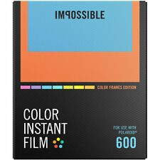 Impossible Instant Color Film Color Frames for Polaroid 600 type cameras 4522