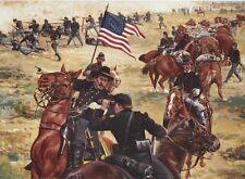 """""""Fighting for Time"""" Don Stivers Signed Limited Edition Civil War Print"""