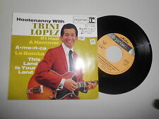 "7"" Pop Trini Lopez - Hootenanny With .. (4 Song)  REPRISE REC"