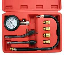Professional Petrol Gas Engine Cylinder Compression Tester Gauge Kit Motor Auto
