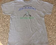 Star Wars Jedi Academy Dueling League Shirt From Celebration VI, Adult L, Grey