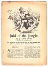 Pulp excerpt JAKI OF THE JUNGLE by J. Allan Dunn from TOP NOTCH September 1933