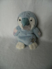 "Plush Soft Toy -  My Blue Nose Friends - 4.5"" Melody Parrot - No.42"