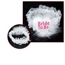 1x Garter Bride To Be Heart Badge for Bachelor Party Hens Night Fashion Tool