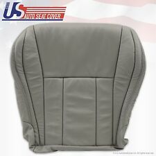 1999 2000 2001 2002 Toyota 4Runner Driver Bottom Leather Seat Cover Color Gray
