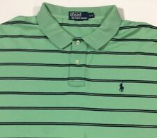 *FREE SHIPPING Men's Ralph Lauren Polo Shirt Short Sleeve 2XL XXL Green