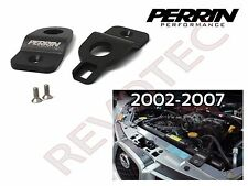 Black Perrin Upper Radiator Stay Kit For 2002-2007 Subaru Impreza WRX STi