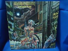 IRON MAIDEN - SOMEWHERE IN TIME - PORTUGAL 33 LP