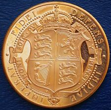 UK Great Britain 1905 Retro Pattern Proof Crown Golden Alloy King Edward VII
