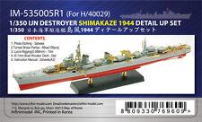 1/350 Infini Model IJN Shimakaze Detail up Set (Hasegawa)