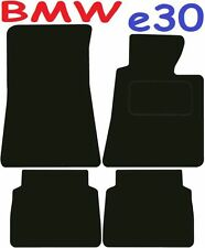 Bmw e30 3 Series Tailored car mats ** Deluxe Quality ** 1991 1990 1989 1988 1987