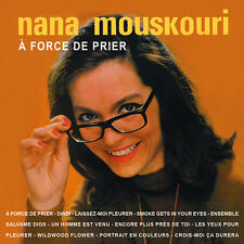 CD Nana Mouskouri - A force de prier
