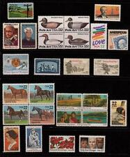 1985 US  COMMEMORATIVE YEAR SET 27 STAMPS MINT NH