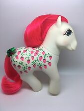 Vintage MLP G-1 My Little Pony ~ SUGARBERRY ~ TWICE AS FANCY/ TAF- PRETTY!