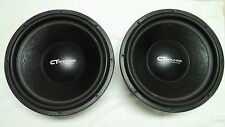 "1 - CT Sounds Strato V2.0 18""  800 watt RMS 18"" 4ohm DVC Car Subwoofer - WOW!"