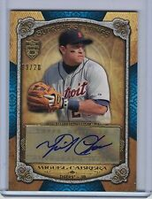2013 Topps Supreme Supreme Stylings MIGUEL CABRERA Autograph #09/20  (B4056)
