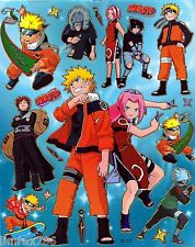 NARUTO AND TEAM SUPER NICE MUST HAVE SCRAP BOOK STICKERS HQ  (BUY 5 MIX FREE 1)