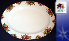 EX. LARGE ROYAL ALBERT MEAT/SANDWICH PLATTER OLD COUNTRY ROSES