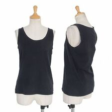 L'EQUIPE yoshie inaba Cotton stretch tank top Size 38(K-31943)