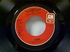 """STING """"LOVE IS THE SEVENTH WAVE / THE DREAM OF THE BLUE TURTLES"""" 45 NEAR MINT"""