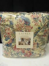 Ralph Lauren Tangier Floral with Floral Bed Skirt 4PC Queen Comforter  Set   NIP