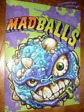 Amtoy Mad Balls Gift Bag 2007 Shows:Repvile & Bash Brain,American Greetings